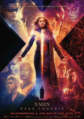 UCI Kino FilmderWoche Ticket in ganz Deutschland 50% Rabatt bis zum 3.7.2019 auf X-Men: Dark Phoenix 3D auch am Wochenende in der Loge