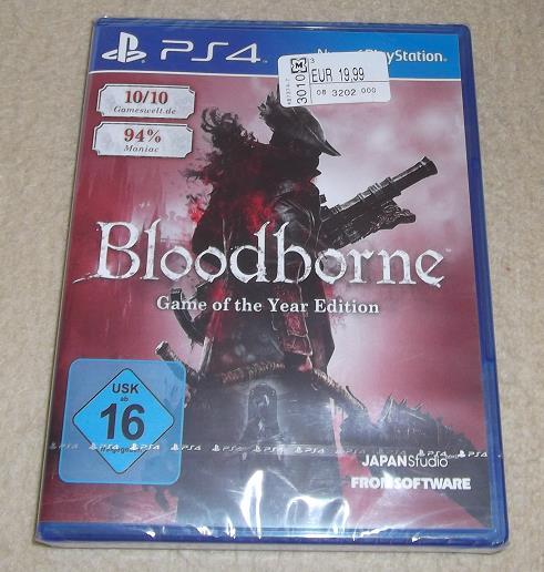 [Müller Filialen] Bloodborne Game of the Year Edition (PS4) für 19,99€, 16,99€ möglich