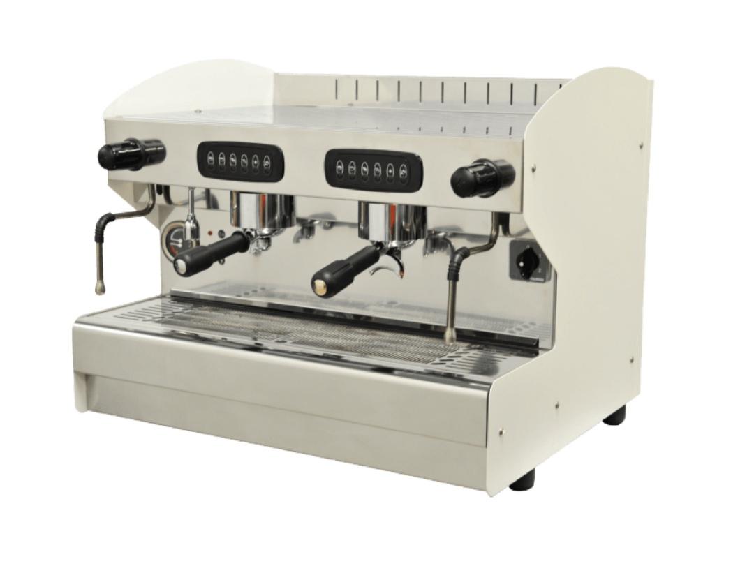 2gruppige Espresso-Siebträgermaschine Macchiavalley Compac 75002W