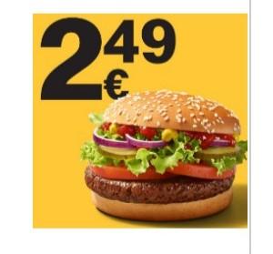 Big Vegan TS für 2,49€ via McDonalds App
