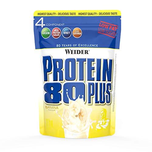 2kg Weider Protein 80 mit Casein - verschiedene Sorten/ Größe im Sparaborabatt
