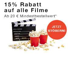 -15 % auf gebrauchte Blu Ray und 4k UHD Filme