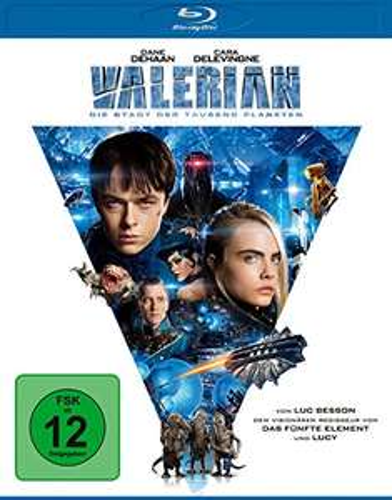 Valerian - Die Stadt der tausend Planeten (Blu-ray) für 5,40€ (Amazon Prime & Thalia)