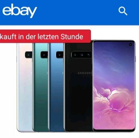 Samsung S10 128GB schwarz (ebay, asgoodasnew)