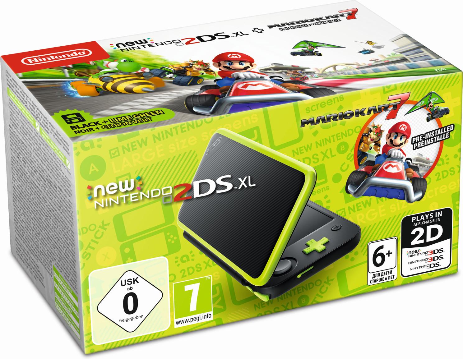 Alle Nintendo 2DS XL im Frankfurt Zeil im Ausverkauf