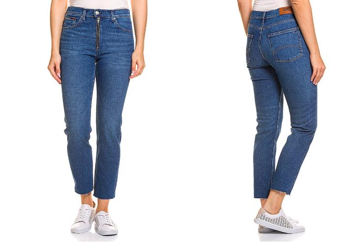 TOMMY HILFIGER Damen Stretch-Jeans, Slim Fit