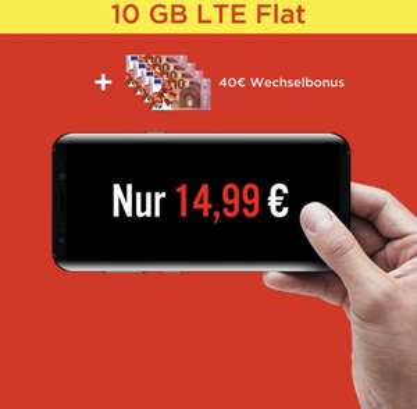 Allnet Flat 10GB (o2 Netz) OneFlex XL