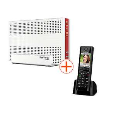 [cyberport] AVM FRITZ!Box 6590 Cable WLAN AC + N Router (DOCSIS-3.0-Kabelmodem, Dual-Band, Mesh, Fritz!OS 7.10) + FRITZ!Fon C5 DECT