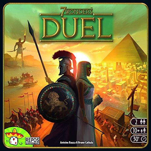 7 Wonders Duel - 2 Spieler Brettspiel