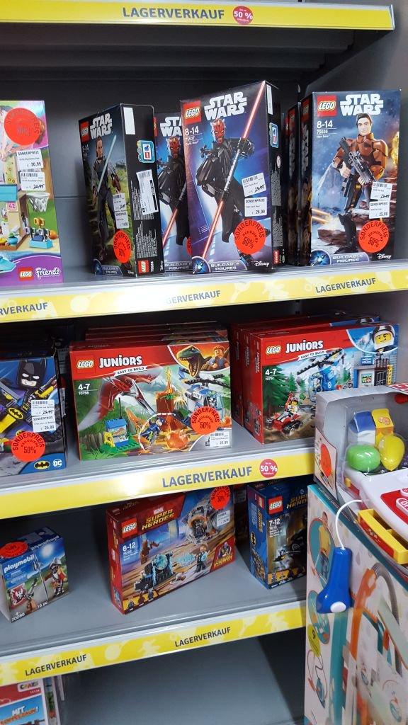 [Lokal Leer] Mytoys - Fundgrube Playmobil + Lego 50% auf Mytoys Preis oder UVP