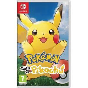 Pokémon: Let's Go, Pikachu! oder Pokémon: Let's Go, Evoli! (Nintendo Switch) für 29,99€ inkl. Versand (Cdiscount)