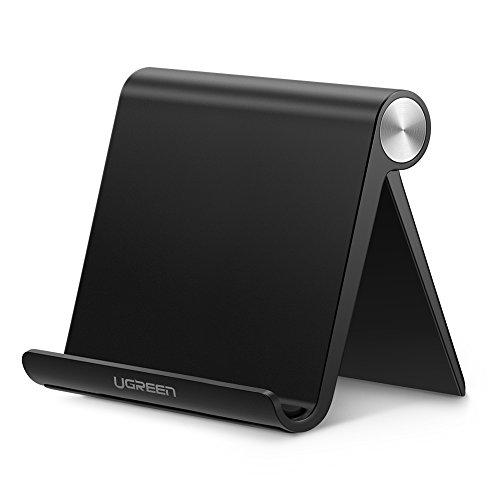 [Prime] Ugreen Tablet-Ständer (für Geräte bis 10.5 Zoll, Winkel bis 100° einstellbar, zusammenklappbar, Gummiauflagen)
