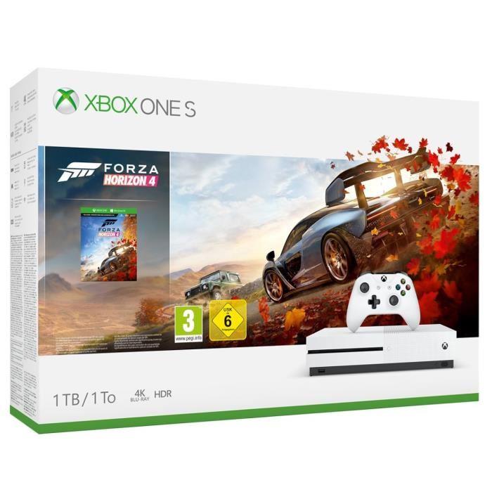 Xbox One S 1TB + Forza Horizon 4 für 169,99€ inkl. Versand (Cdiscount)
