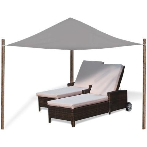 Sonnensegel / Schattentuch bei Action für 5,92€ - 3x 3,6m