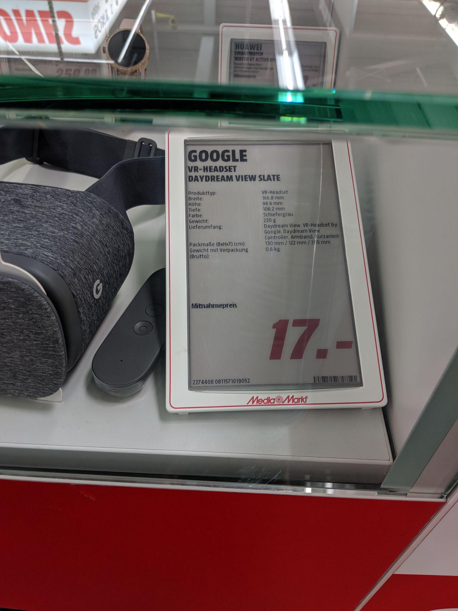 [Lokal Göttingen Media Markt] Google Daydream View VR Brille