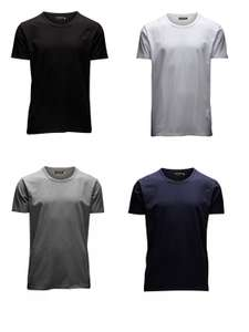 Jack & Jones 4er Pack Basic T-Shirts O-Neck / V-Neck in Gr. S-2XL
