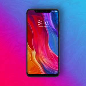 "Xiaomi Mi 8 128/6GB - Snapdragon 845 - 6,21"" Amoled Display - 12MP/12MP - Weiß [Mediamarkt]"
