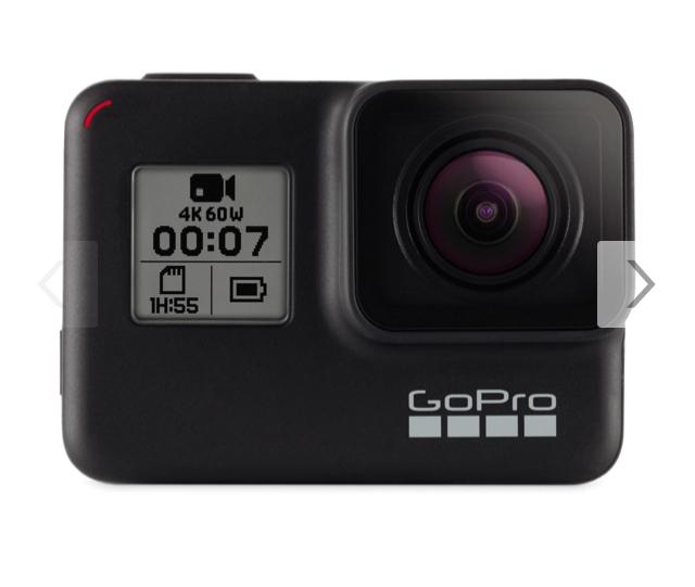 GoPro Hero 7 Black 4K Action Kamera