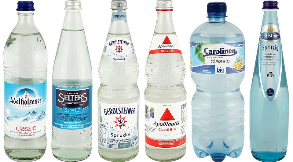 [Öko-Test] Testergebnisse für Mineralwasser mit Kohlensäure vom Juni 2019 gratis einsehen