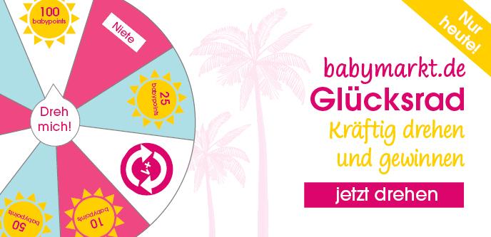 Gratis Guthaben/babypoints sammeln beim babymarkt.de Glücksrad