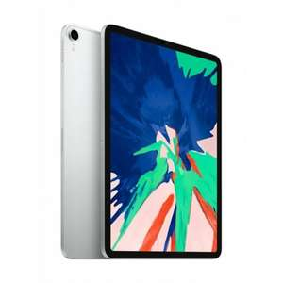 Apple iPad Pro 11 Wi-Fi 64GB silber / spacegray MTXP2FD/A (Neuware aus den USA, normale 1-Jahr Apple Garantie, EU-Netzadapter)[eBay plus]