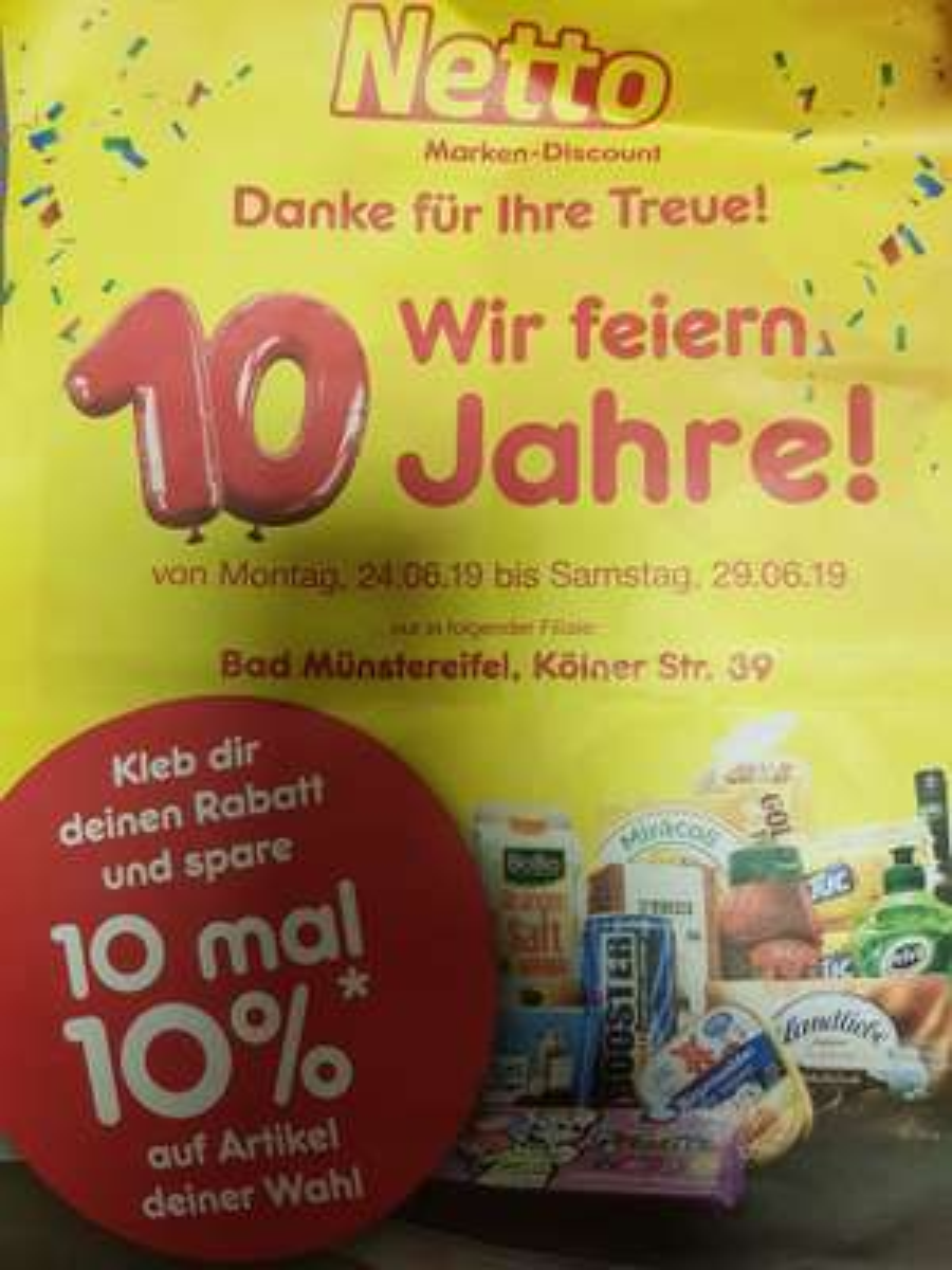 10% Netto Marken-Discount Bad Münstereifel