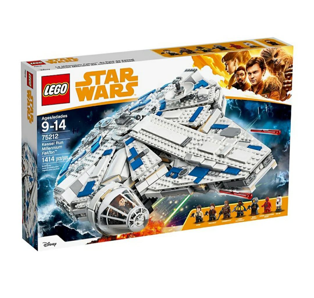 Lego Kessel Run Millenium Falke 75212