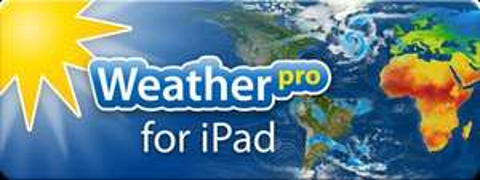WeatherPro for iPad gerade im App Store im Angebot