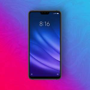 "Xiaomi Mi 8 Lite 64/4GB - Snapdragon 660 - 6,26"" Display - 12MP/5MP 