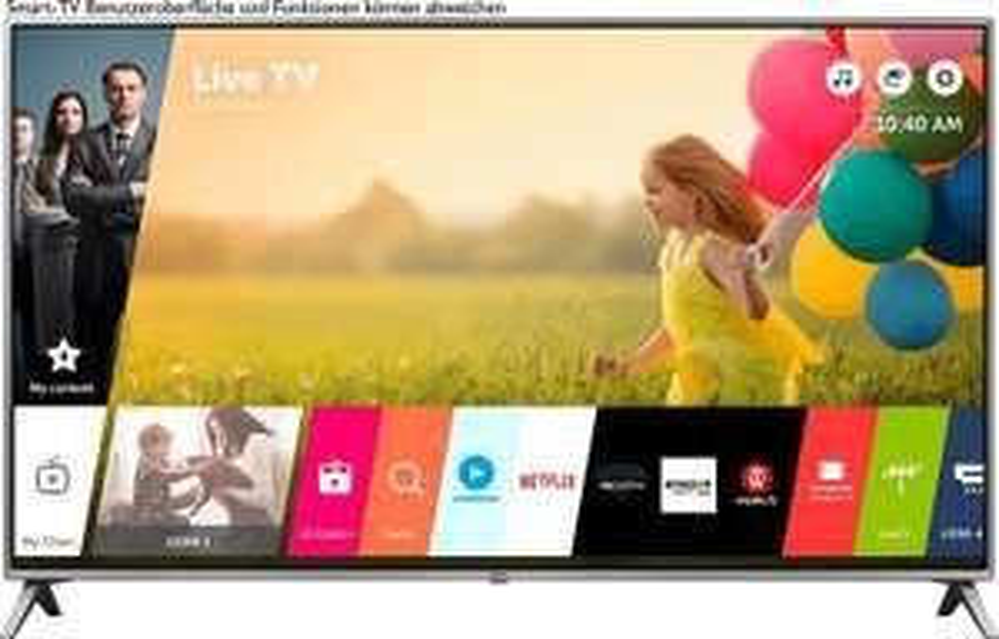 LG 65UK6500LLA 164 cm (65 Zoll) Fernseher (Super UHD, Triple Tuner, 4K Active HDR, Smart TV, WebOS) [eBay]
