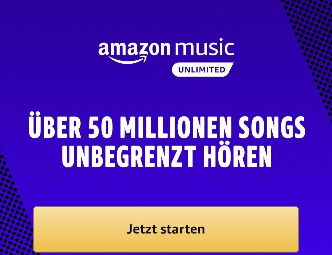 Nur für prime Nutzer :Amazon prime music unlimited 4 Monate für 99 Cent
