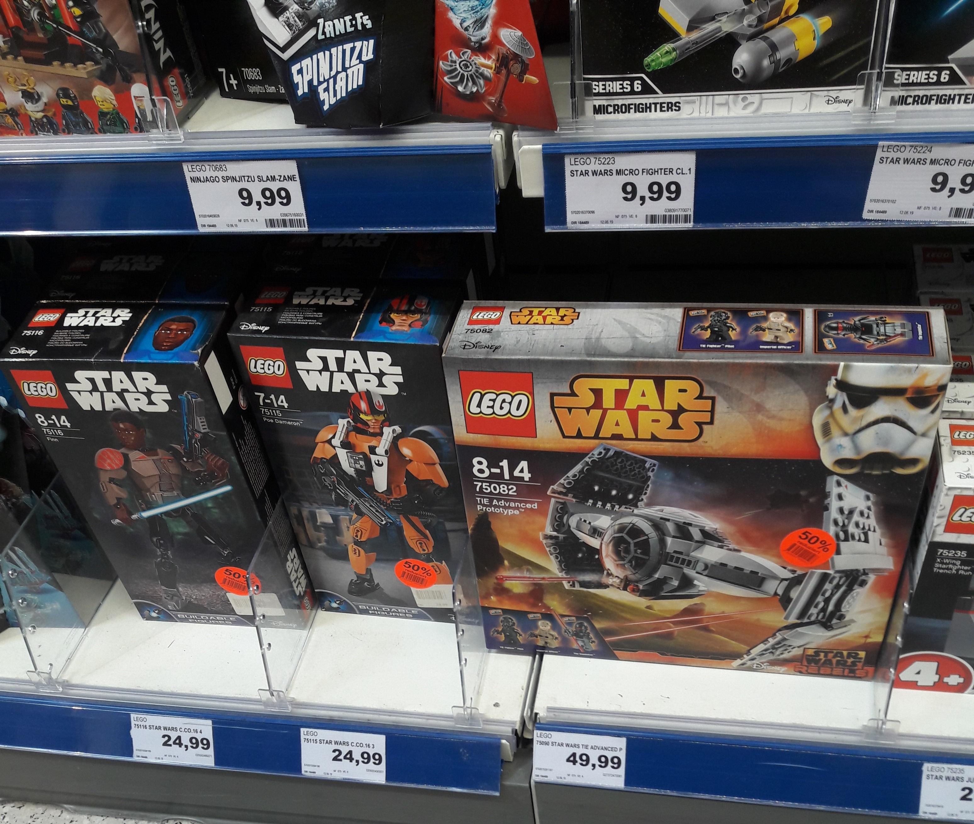 [Lokal Bremen Edeka Wallecenter] Teilweise 50% Rabatt auf Lego Star Wars, City, Creator, DC Super Hero Girls