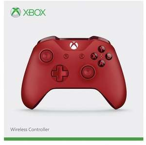 Xbox One S Wireless Controller (Rot & Blau) für je 43,51€ (Amazon IT)