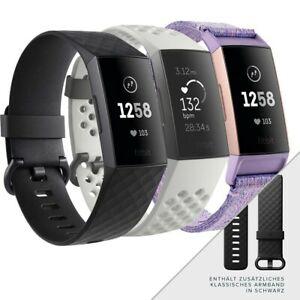 Fitnesstracker Fitbit Charge 3 Special Edition (OLED, Bluetooth 4.0, NFC, Herzfrequenz, Höhenmesser, ~7 Tage Akku, Fitbit Pay, wasserdicht)