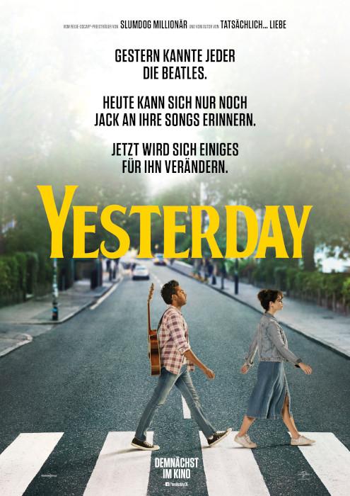 """[ lokal Traunstein ] Kostenlos ins Kino zu """"Yesterday"""" am 10.07. (2 Karten)"""