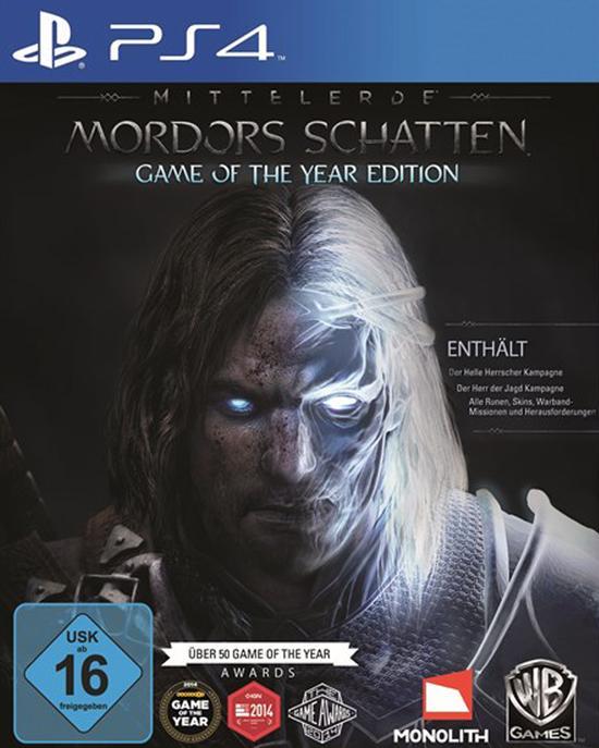 Mittelerde: Mordors Schatten Game of the Year Edition (PS4) für 10€ (GameStop)