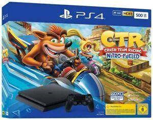 PlayStation 4 Slim 500GB + Crash Team Racing: Nitro Fueled für 233,91€ € (eBay)