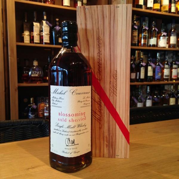 "[Brühler Whiskyhaus] Michel Couvreur ""Blossoming Auld Sherried"" Malt Whisky, 0,7L 45%vol. *Sherrybombe* aus Frankreich!"