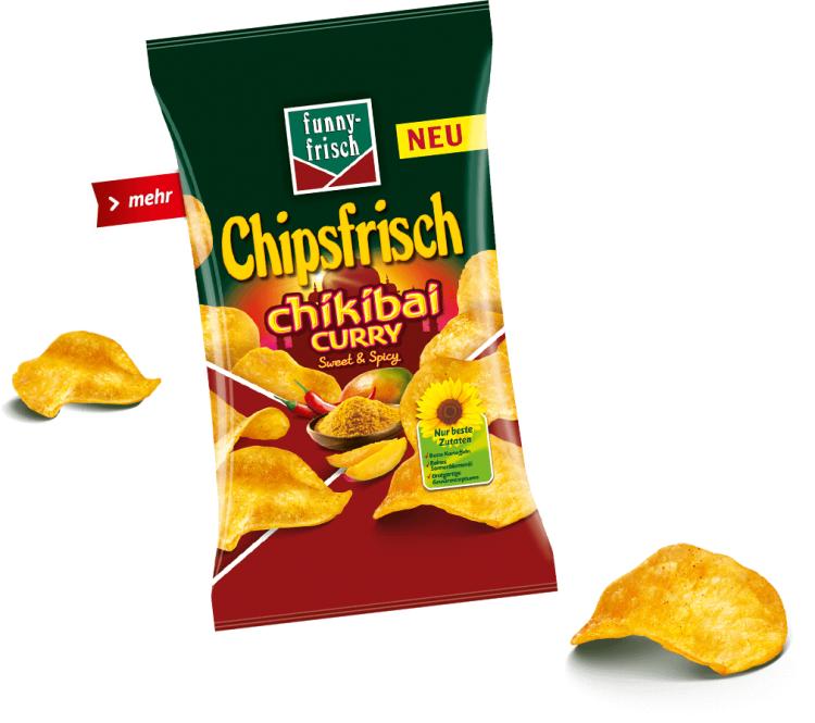 funny-frisch Chipsfrisch, versch. Sorten, die Packung für 88 Cent [Globus]