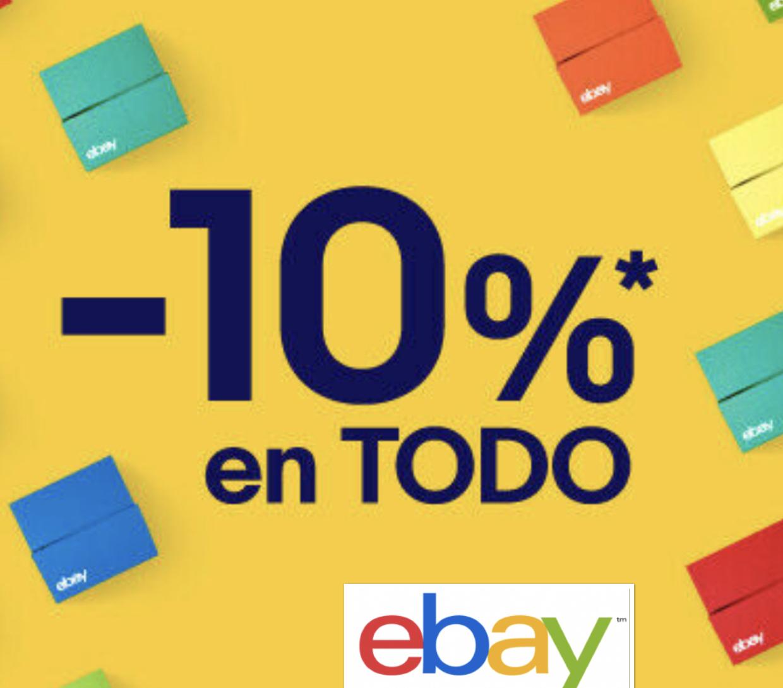 10% auf Alles bei ebay.es - nur heute von 17 - 21 Uhr! - kein Mindestbestellwert und max. 50€ Rabatt