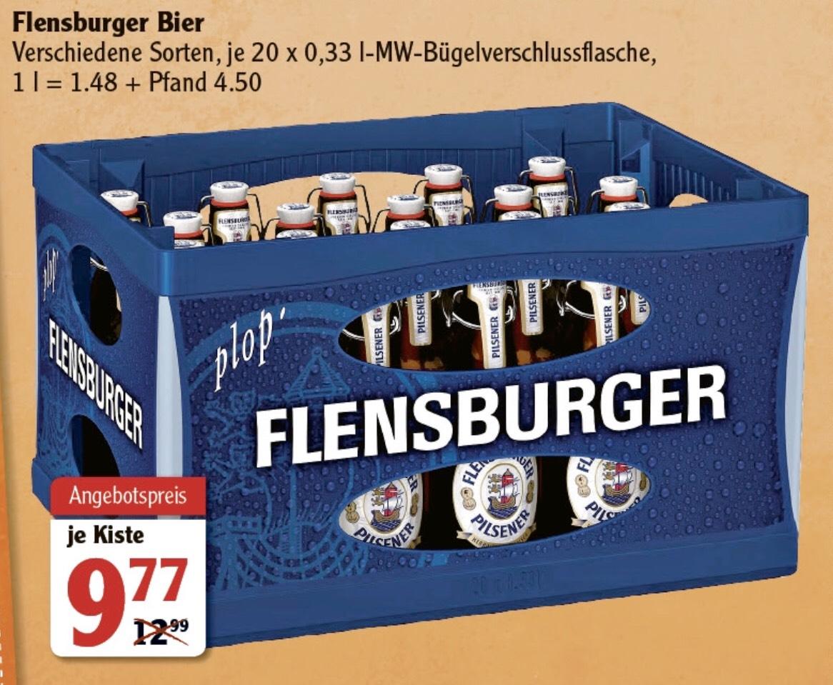 [GLOBUS] Flensburger Bier (20 x 0,33l) (Lokal? Globus - Wiesbaden)