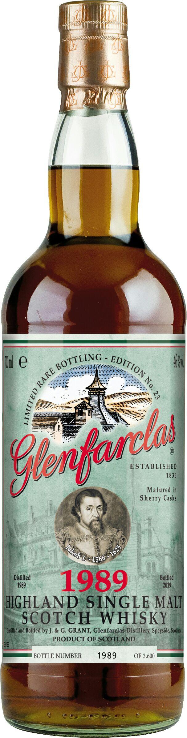 Bestpreis - Glenfarclas Ed. No. 23 1989/2019 46% 29 Jahre (Whisky Whiskey) (Cola ;-))