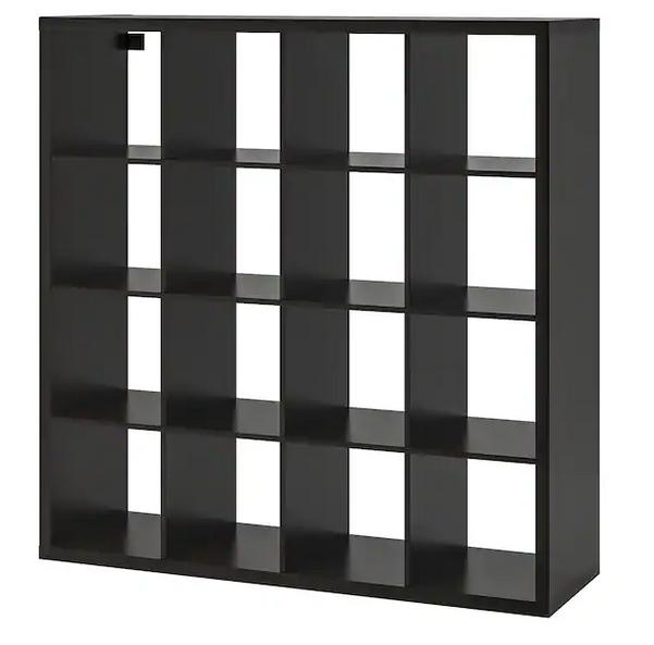 [Lokal / Bielefeld] Ikea Kallax 4x4 bzw 147x147cm, schwarzbraun, Fundgrube, 6Stk (außerdem Malm Kommoden in Eiche lasiert weiß)