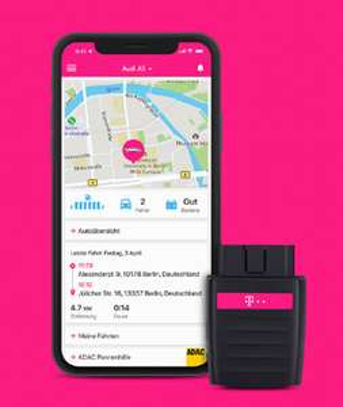 TELEKOM CarConnect (WLAN Hot Spot im Auto; 5GB LTE mit EU Roaming) inkl. 1y ADAC for free