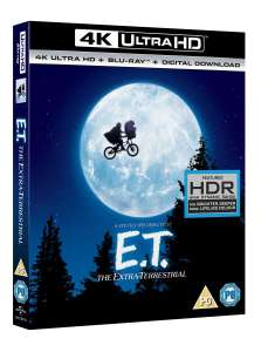 E.T. - Der Außerirdische (4K Blu-ray + Blu-ray) & Bram Stoker's Dracula (4K Blu-ray + Blu-ray) für je 12,24€ inkl. Versand