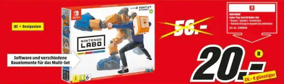Nintendo LaboToy-Con Robot Kit & Nintendo LaboToy-ConMulti-Kit für je 20€ [Lokal Offenburg]