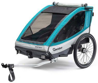 Qeridoo Sportrex 2 Basic Fahrradanhänger ohne Buggyset bei Bikebox