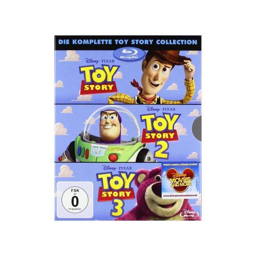 [BLU-RAY] Disney Toy Story 1 bis 3 Collection @ Amazon für 22,97 EUR