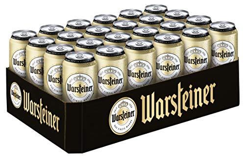 [Amazon Prime] 20% Rabatt auf Warsteiner Premium Pilsener Dosenbier (24 x 0,5 Liter) im Sparabo