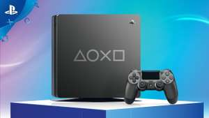 Playstation 4 1TB  Days of Play Edition für 199€ im Saturn Frankfurt Zeil